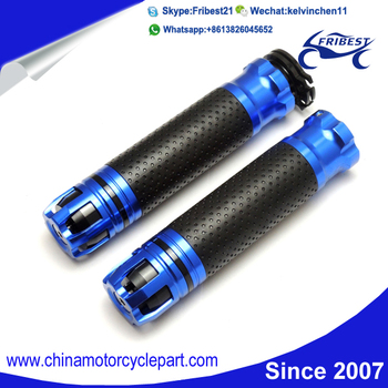 Motorcycle Diamond Handle Bar Grips For KAWASAKI ZX6R ZX10R ZX12R ZX14R