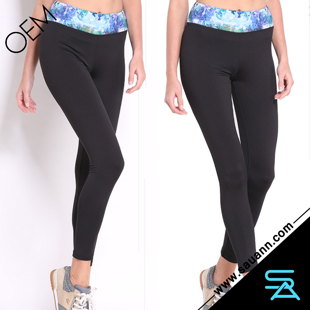 Women Exercise Running YOGA Pants Athletic Workout High Waisted Tights