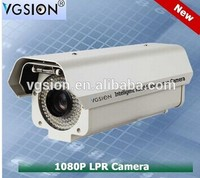 High shutter speed 2.0Megapixels LPR License Plate Recognition Camera (For vehicle speed under 180KM/H)