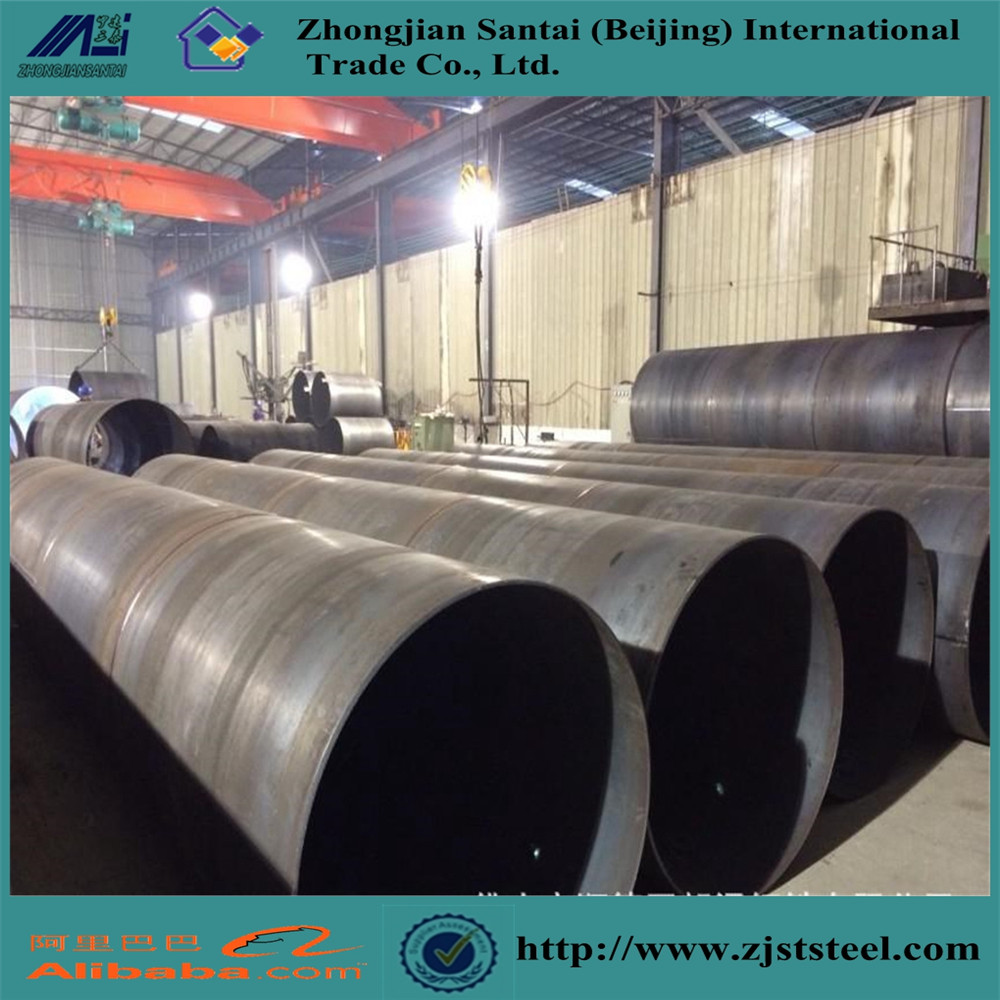 1620mm diameter spiral steel tube used for oil and natural gas transmission pipeline