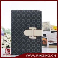 Guangzhou factory selling elegant business leather case for ipad mini