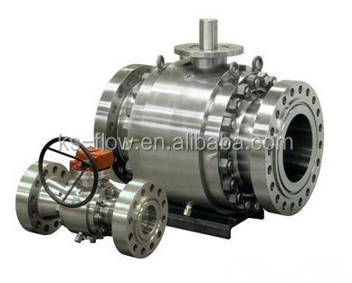 Gear operated heavy duty trunnion mounted ball valve 600 price,valve ball