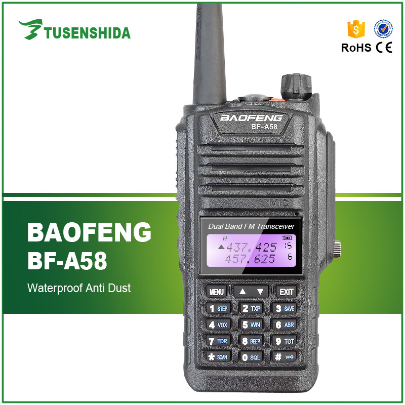 Hot sale Cheap Baofeng long range BF-A58 Dual Band digital ham two way radio with FM CB Transceiver Radio