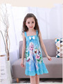 2017 Latest Children sleeping clothes for girls carton princess disney princess kids night dress