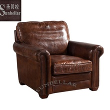 genuine leather sofa single seat sectional top grain leather sofa luxury home furniture
