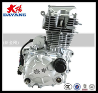 Single Cylinder Four Stroke Large Torque Lifan 150cc Air Cooled Motorcycle Engine Parts