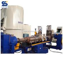 China popular waste plastic agricultural film granultion machine recycling extruder
