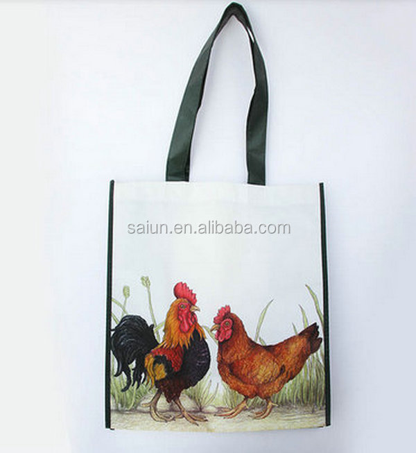 OEM Reusable Cheap custom printed pp Woven Plastic Bag china manufacturer