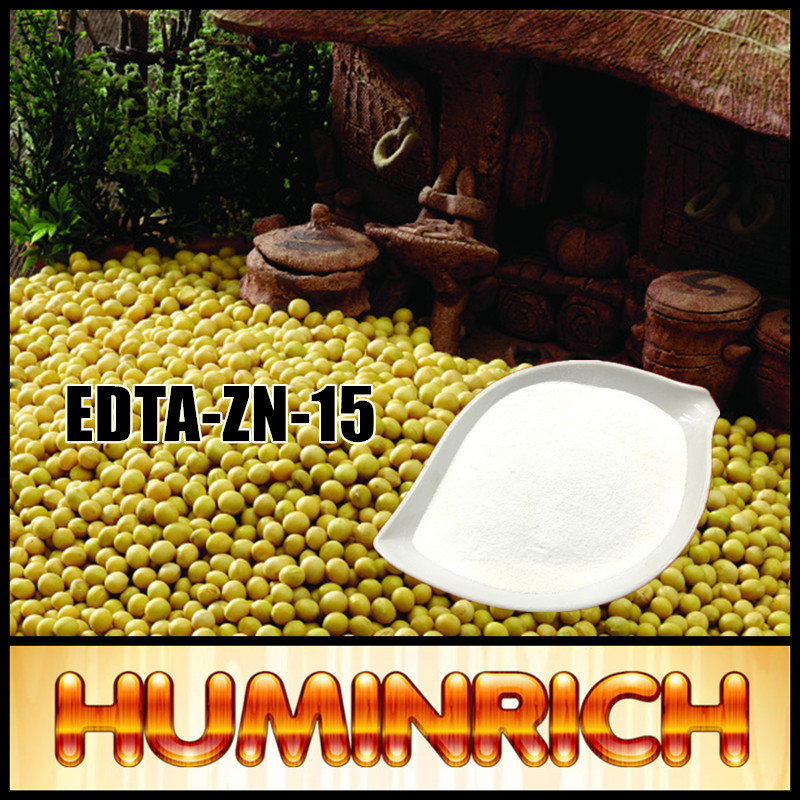 Huminrich EDTA Zn 15% Chelated Fertilizer Edta Chemical Formula