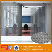 China BV Certificated Exporter decorative architectural wire drapery/architectural woven mesh