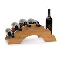 Kitchen Dinning Room Wooden Wine Rack