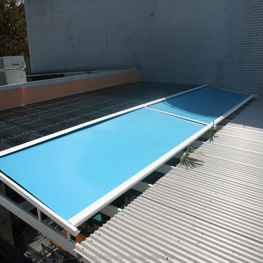 Electric aluminum glass roof sliding
