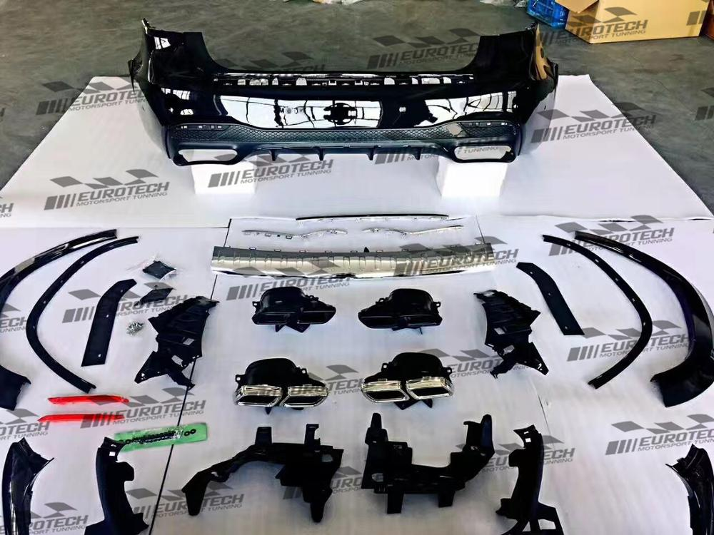 High quality X166 gls63 style Converted kit PP body kit for GLS-class 2015-