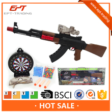 Top one electric gel water crystal bullet guns foam darts gun toys