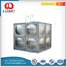 New style stainless steel large galvanized 500 liter water tank price