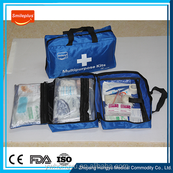 Wholesale low price high quality emergency using car using first aid kit