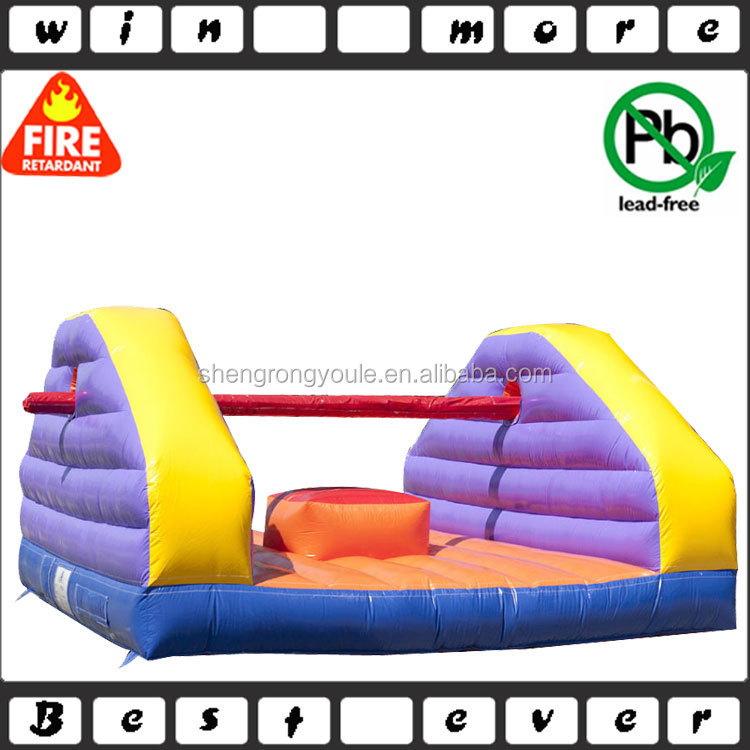 2016new design inflatable pillow fight game for fun,china game for kids and adults