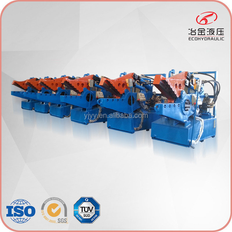 sheet metal alligator shear machine for scrap cutting