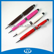Leather Multi Colored Gift Ballpoint Pen For Business