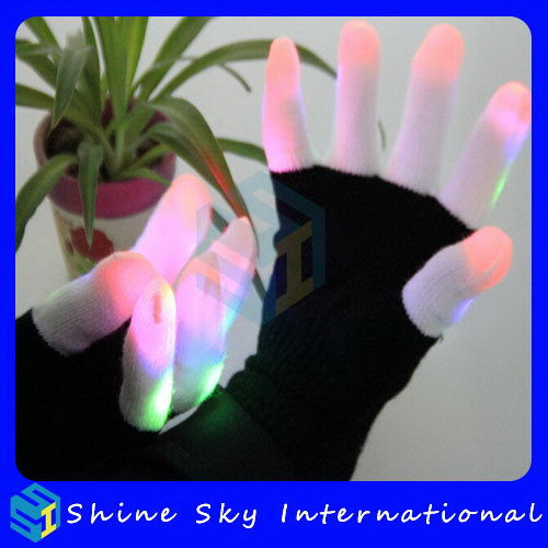 High Quality Hot Selling Party Fantastic Led Gloves