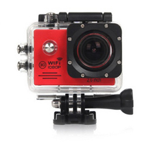 High resolution 4k action camera with remote control