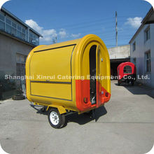 2013 New Design Mini Food Caravan Trailer with Big Wheels Single Window XR-FC220 B