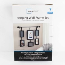 high quality 3d wall picture decor frame set for family