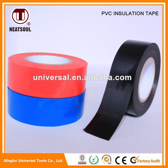 Standard flame resistance electronic pvc insulation tapes