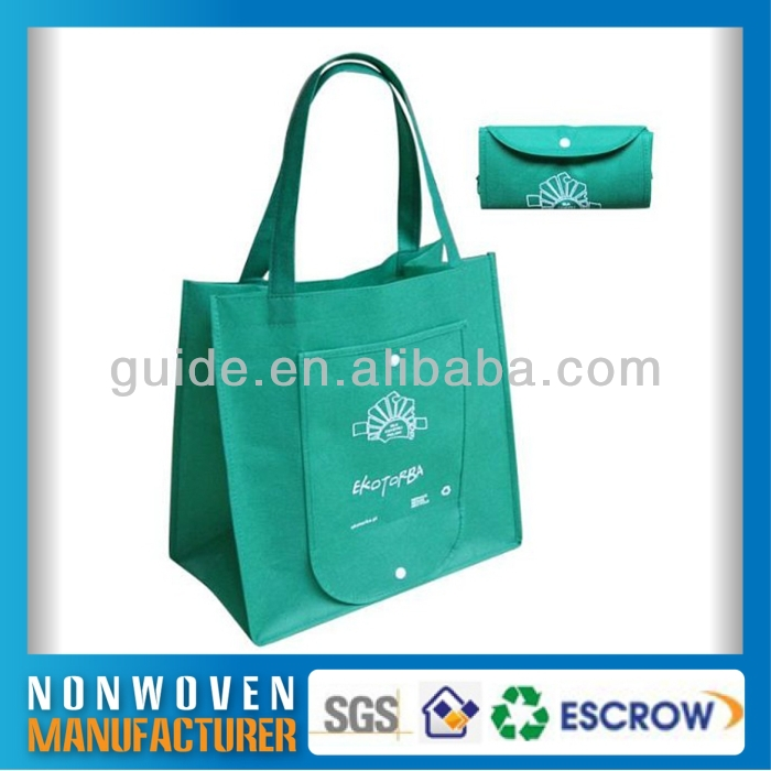 China Factory Price Colorful Reusable shopping non woven tote bag