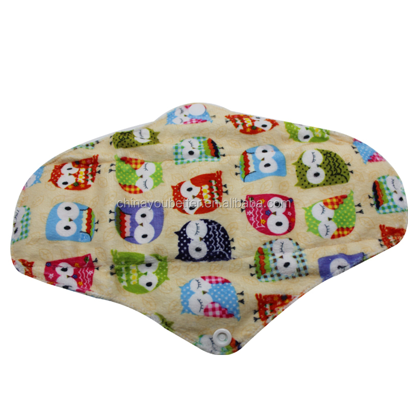 New Pattern Reusable And Washable Cloth Mama Menstrual Sanitary Pads,Day Use Sanitary Napkin
