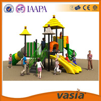 Cheap outdoor plastic playsets for kids