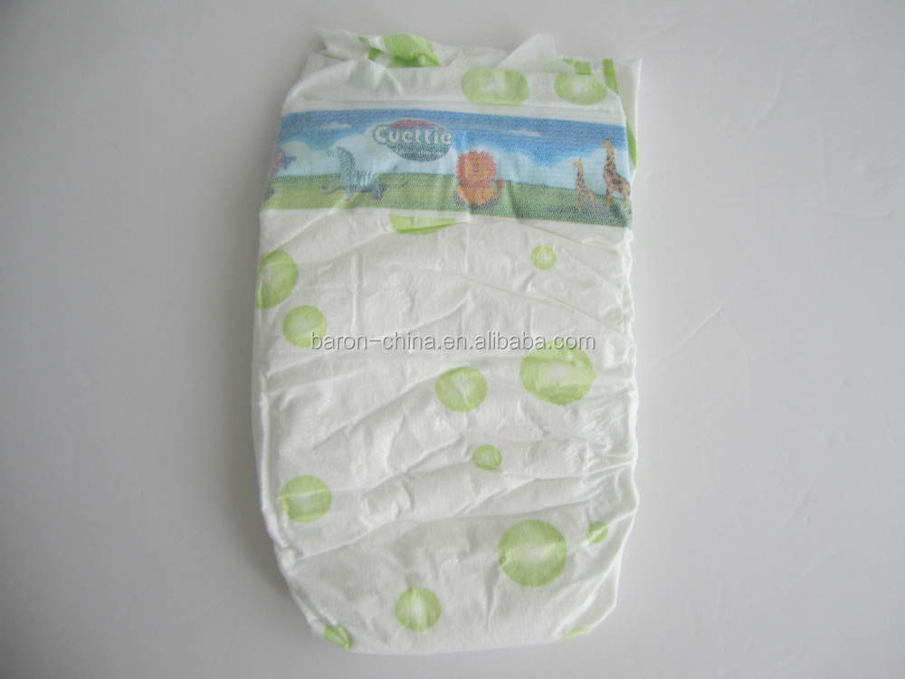 2015 new disposable baby diaper plastic pants manufacturer China