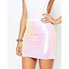 Fancy Skirt Top Designs Women Mini Skirt Summer Sequin Skirt HSS9352