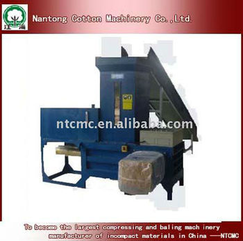 horizontal baler for pulp