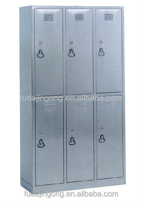 C-11 6-door stainless steel dressing cupboard ,dressing table with cupboard,clothes cupboard design