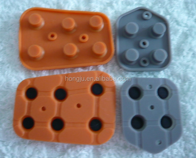 Supply all kinds of Silicon keypad with carbon pill with best choice