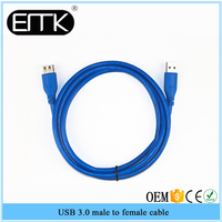 High Speed Male To Female USB 3.0 Extension Cable Wire Cord Connector Adapter