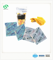 Oxygen absorber sachet for dried fruit packaging to extend the shelf life