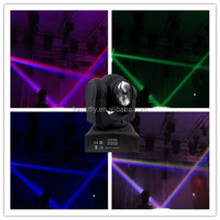 new stage lighting Double sides RGBW wash beam led moving head light / mini moving head led