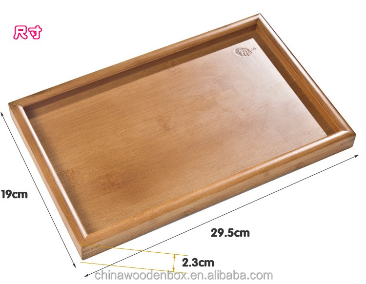 New Arrived Party Vintage Style Personalized Design Wooden Decorative Serving Trays Wholesale
