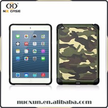 Army style high quality for ipad case pu, 12.9 for ipad back cover