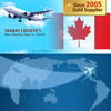 Low Air Freight Cost shipping to Montreal