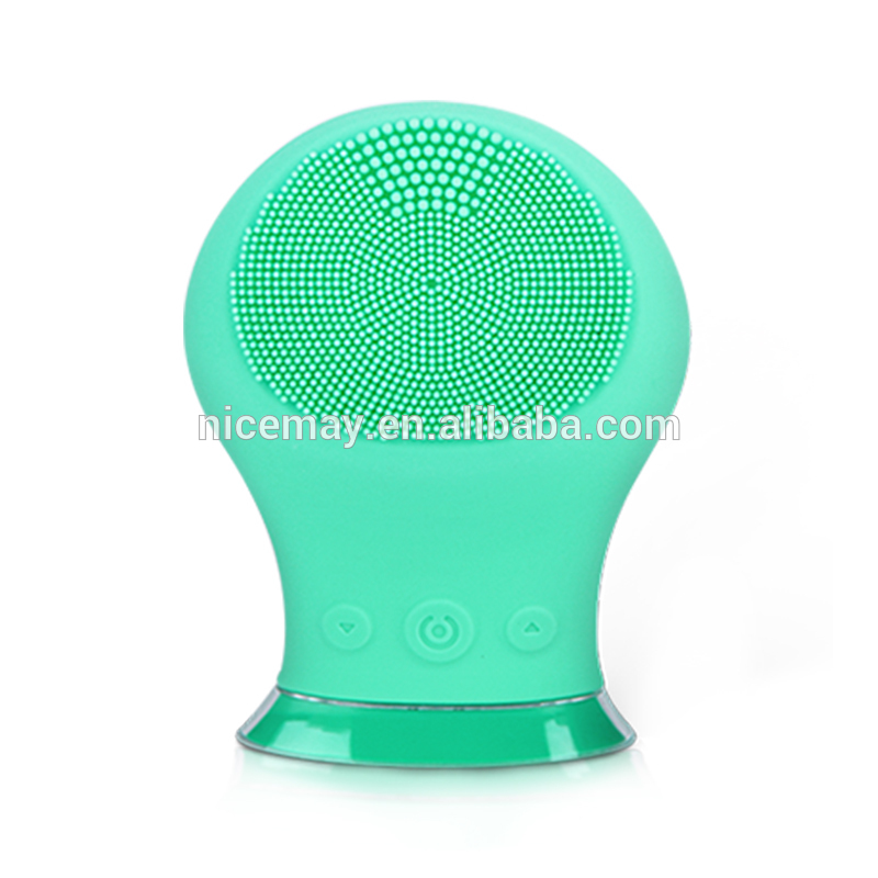 China manufacturer silicone sonic facial brush for wholesale