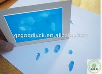 Lovely Mini Footprint and Fingerprint Blue Ink Pad For Baby