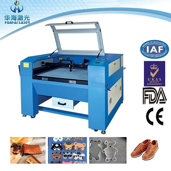 Economic leather laser cutting engrave machine/laser leather cutting machine/laser cut engrave hollow on various leather goods