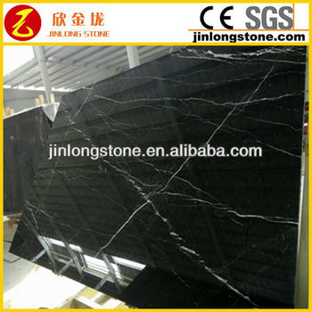 low price Chinese black and white marble