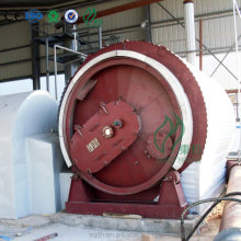 scrap tires pyrolysis production line with CE/ISO