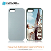 Newest dye sublimation 2 IN 1 Heavy Duty B Phone Case for Iphone 5/ 5s