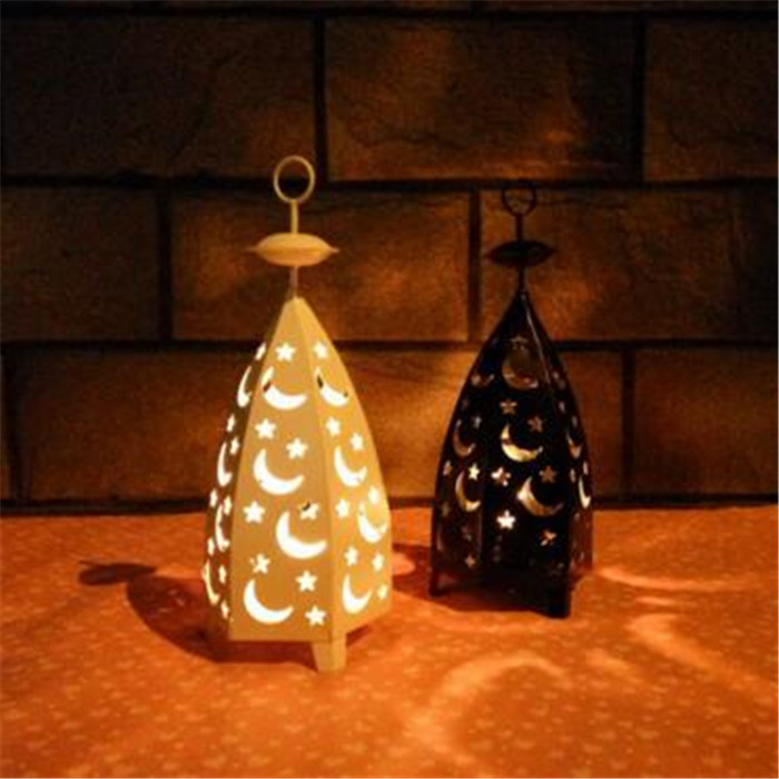 Top quality moon shape candle holders