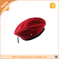 air force red military beret
